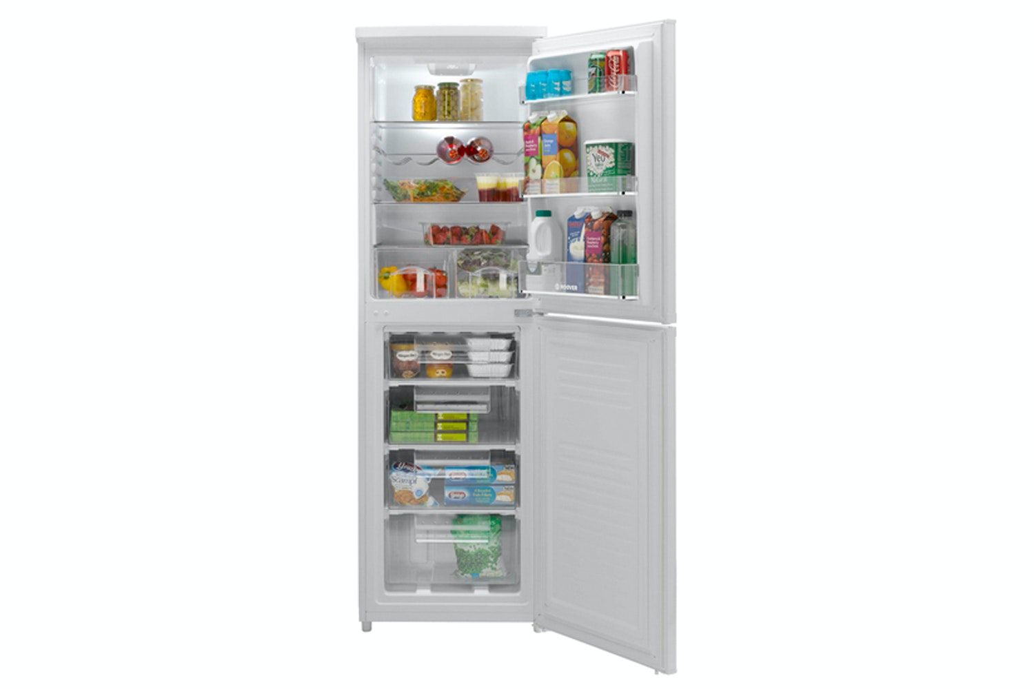 Hoover Freestanding Fridge Freezer | HSC574W