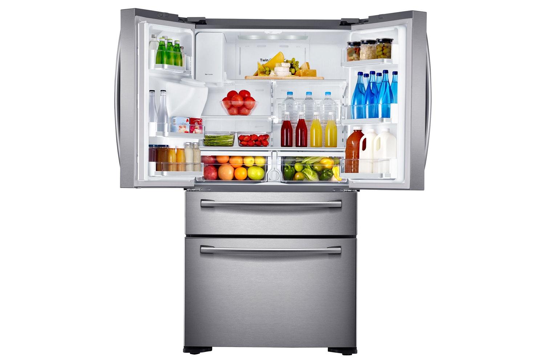 Samsung Four Door Fridge Freezer | RF24FSEDBSR/EU