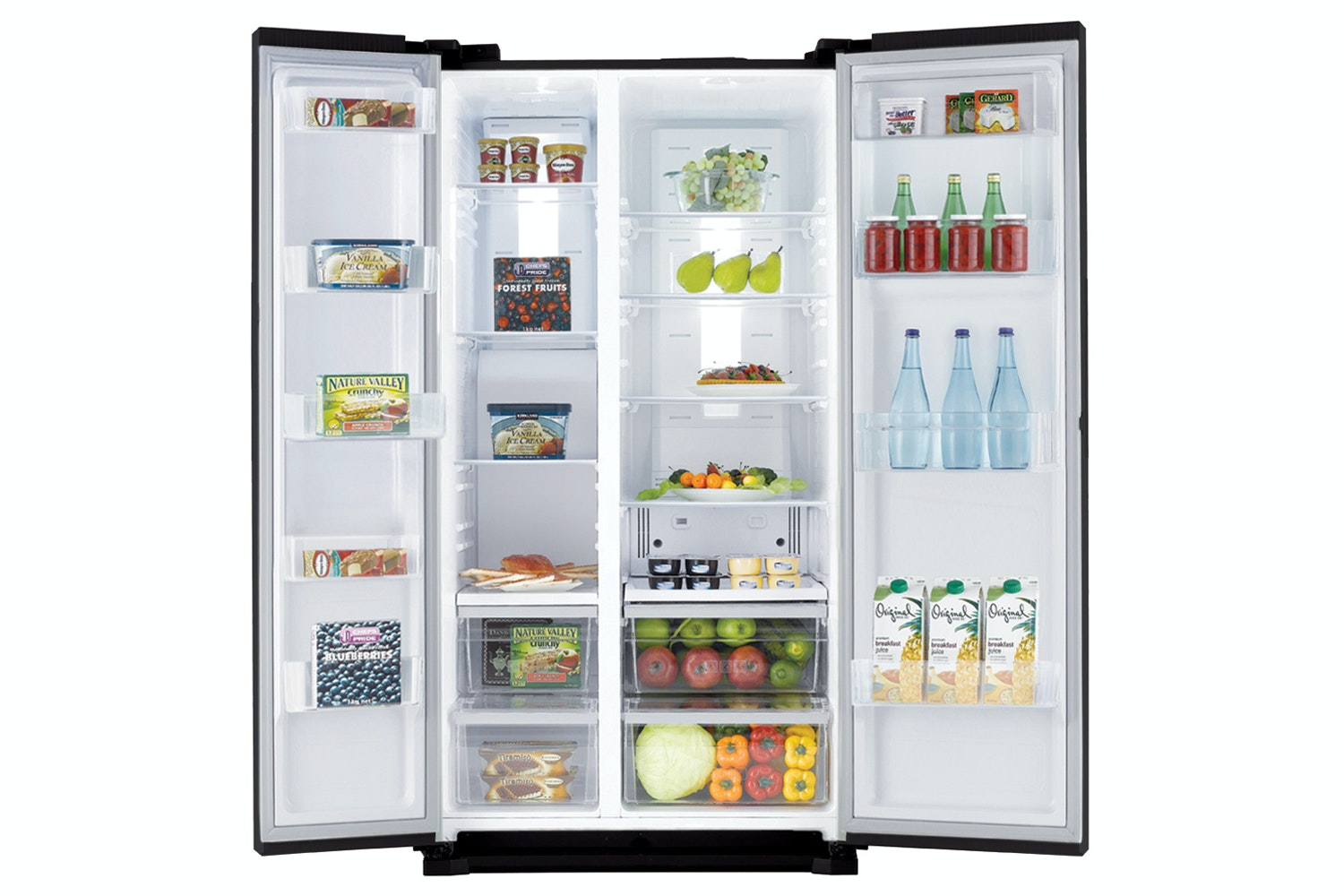 Samsung Side by Side Fridge Freezer | RS7527BHCBC/EU
