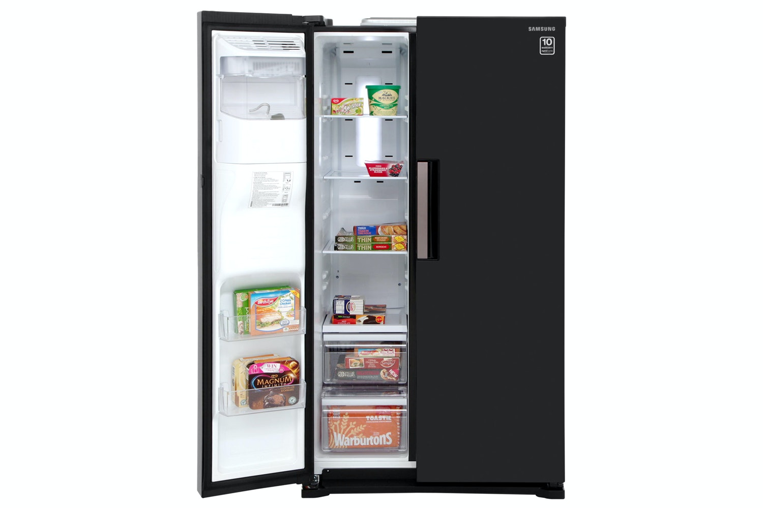 Samsung H-Series Side by Side Fridge Freezer | RS7667FHCBC/EU
