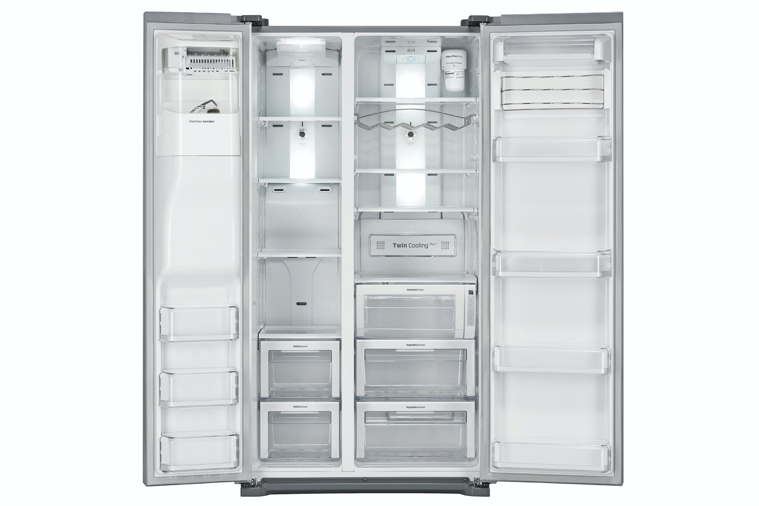 Samsung G-Series Side by Side Fridge Freezer | RSG5UUSL1/XEU