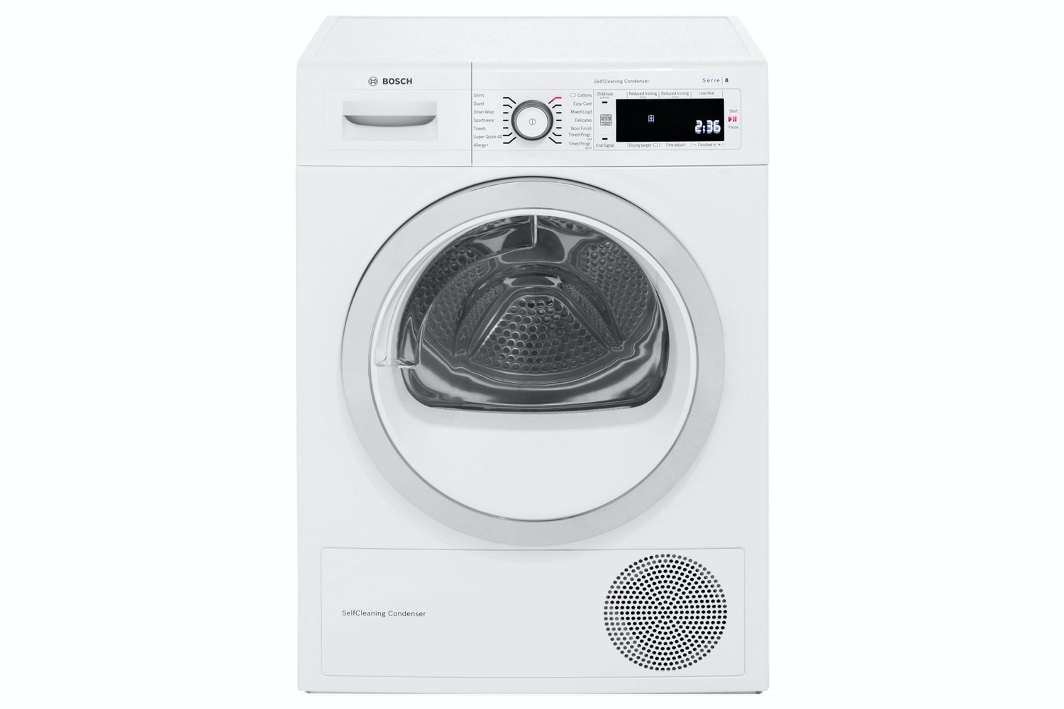 Bosch 9kg Heat Pump Dryer | WTW87560GB