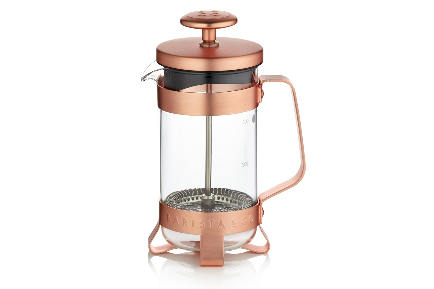 3 Cup Copper Coffee Plunger