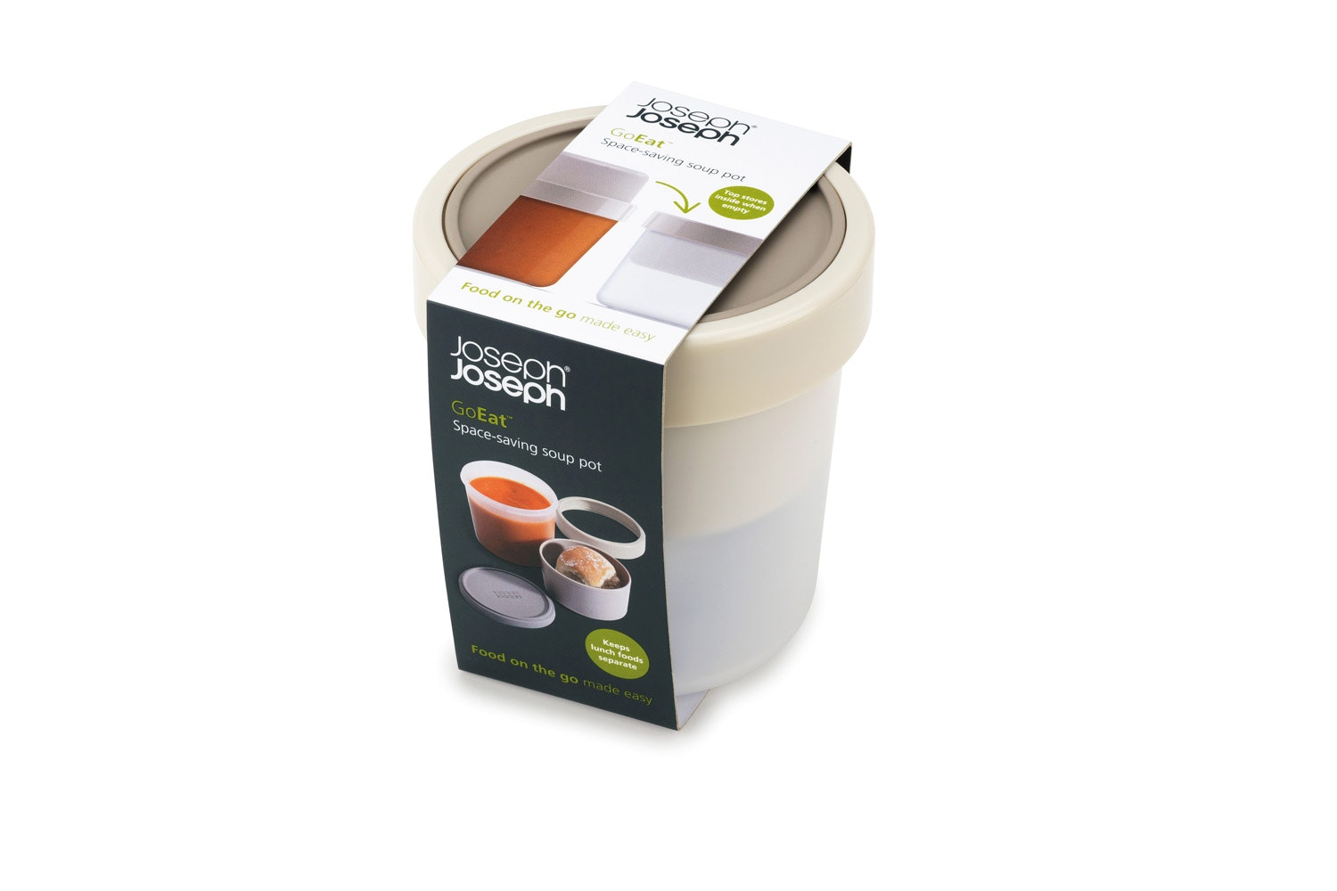 Joseph Joseph GoEat Soup Pot | Grey