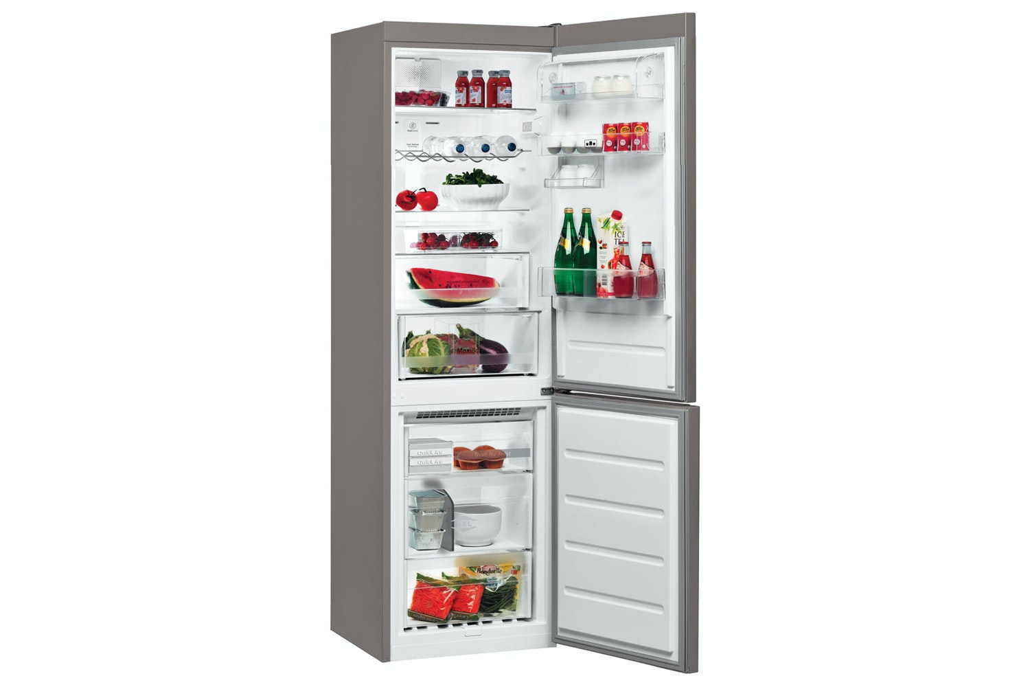 Whirlpool Freestanding Fridge Freezer | BSNF8151OX
