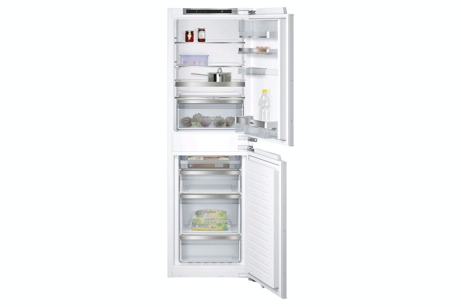 Siemens iQ500 Built-in Fridge Freezer | KI85NAD30G