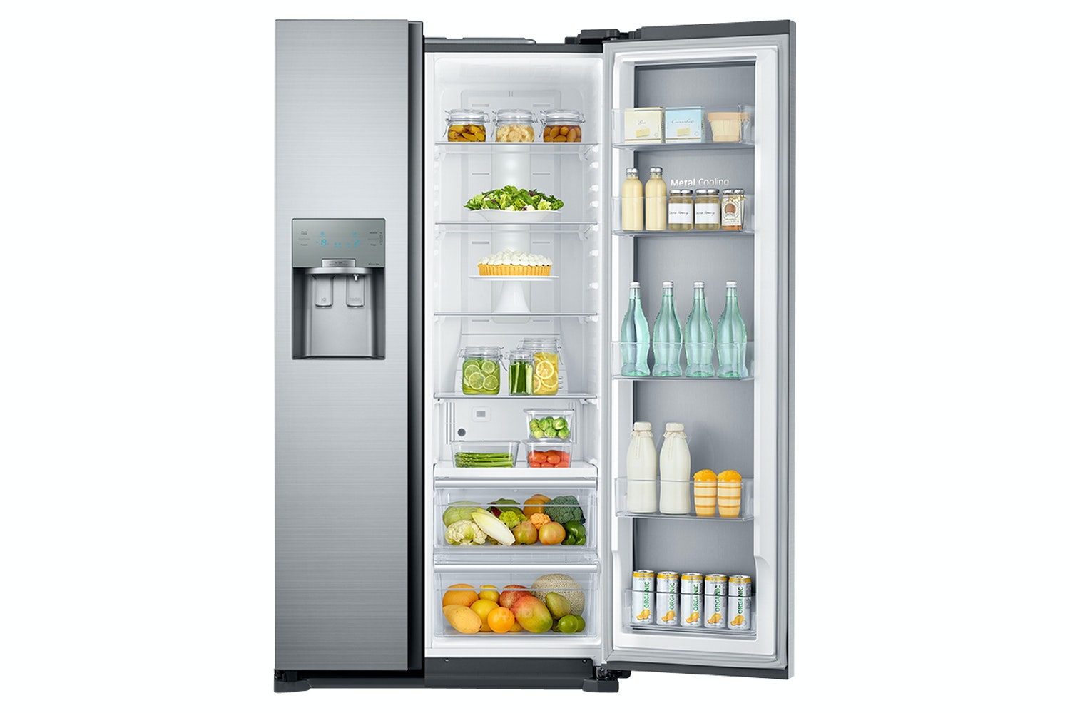 Samsung RH700 Series Side by Side Fridge Freezer | RH56J6917SL/EU