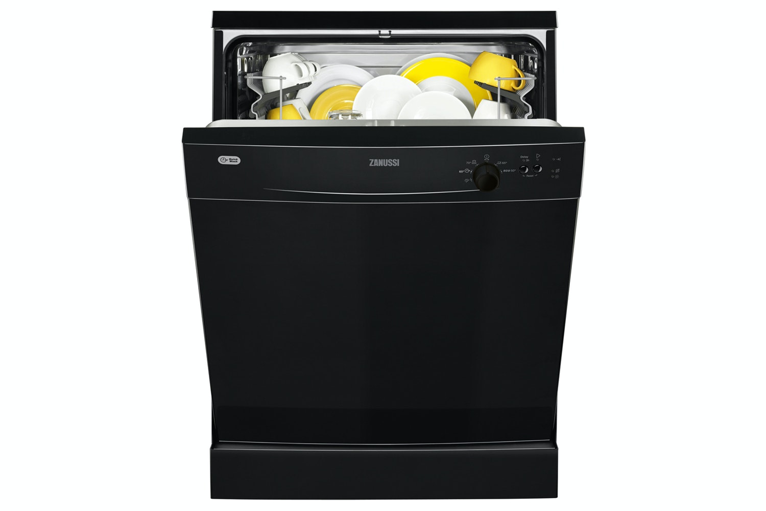 Zanussi Freestanding Dishwasher Black | ZDF21001NA