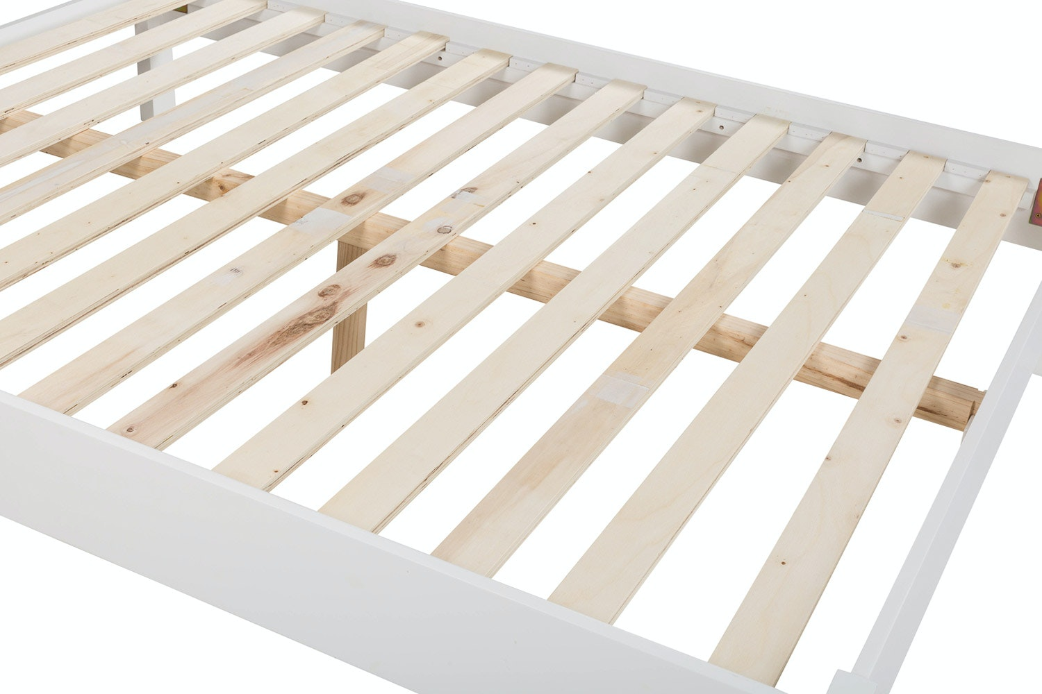 Ascott Double Bed Frame | 4ft6 | Angel White