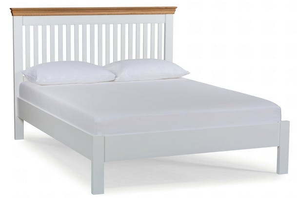 Ascott Bed Frame | Angel White | King | 5ft