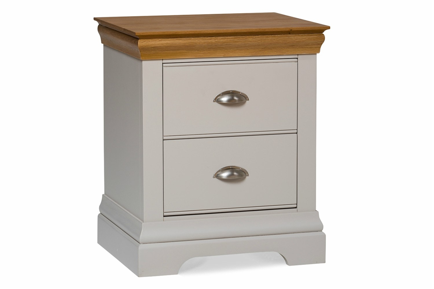 Ascott Bedside Locker | Pebble Stone