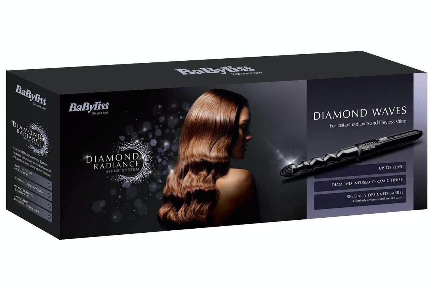 Babyliss Diamond Radiance Curling Wand