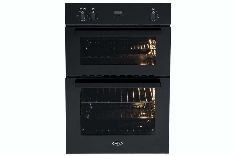Belling Built-in Double Oven | BI900FPBLK