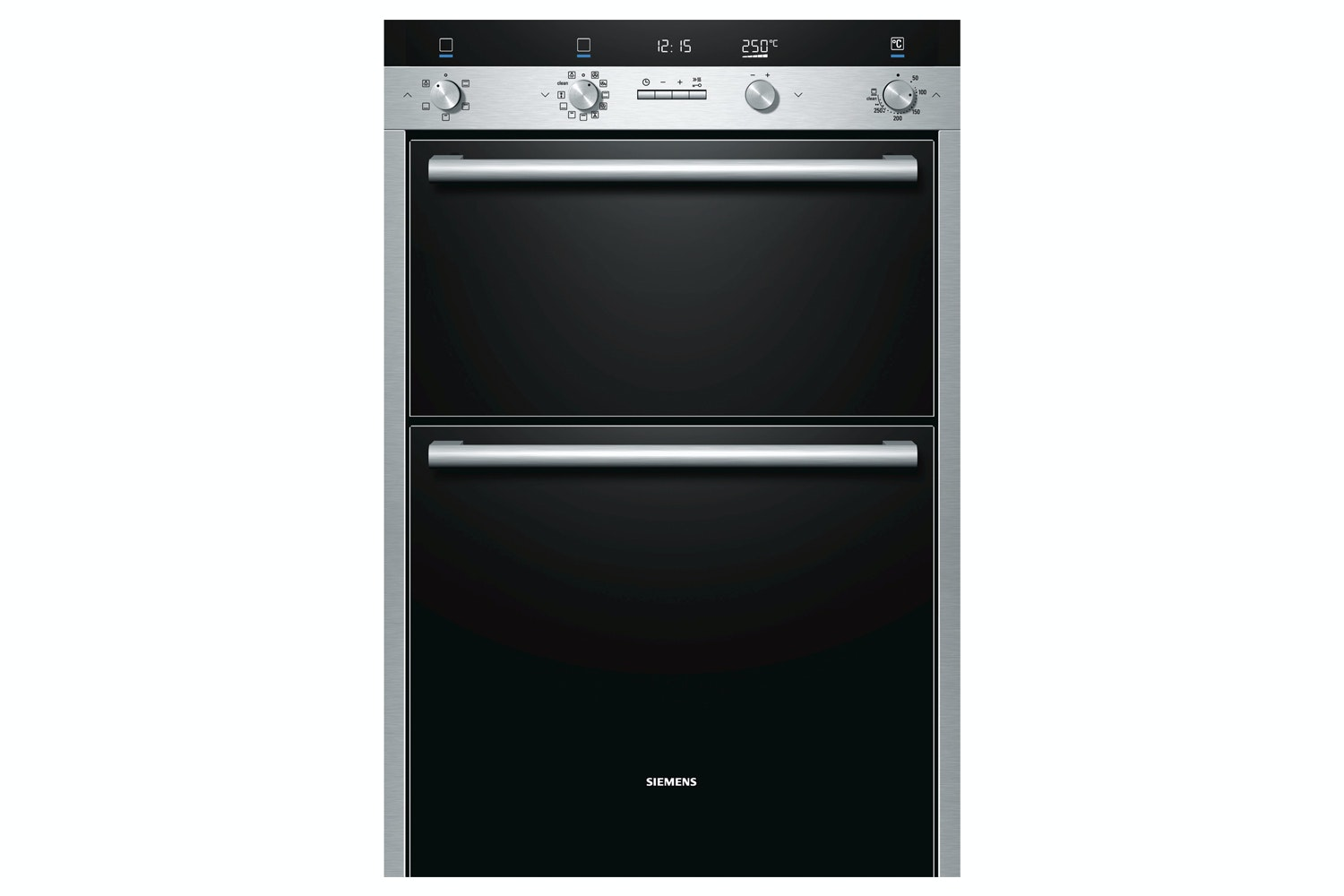 Siemens Double Oven Stainless Steel  HB55MB551B