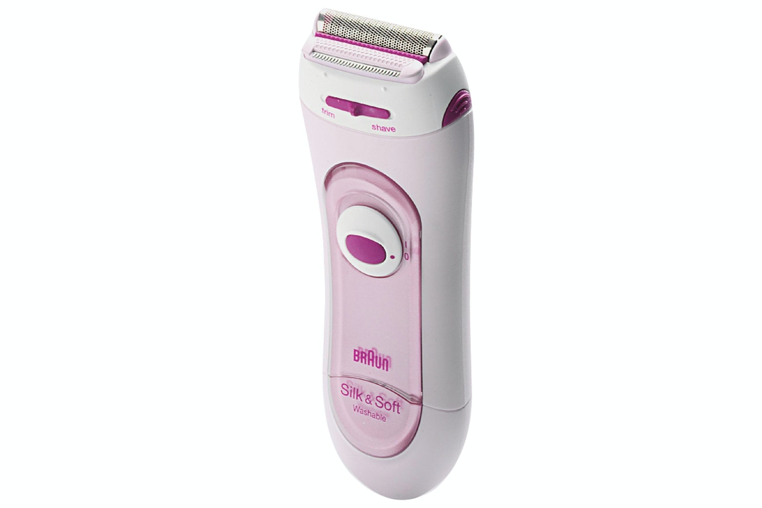 Braun Silk & Soft Ladies Battery Operated Electric Shaver