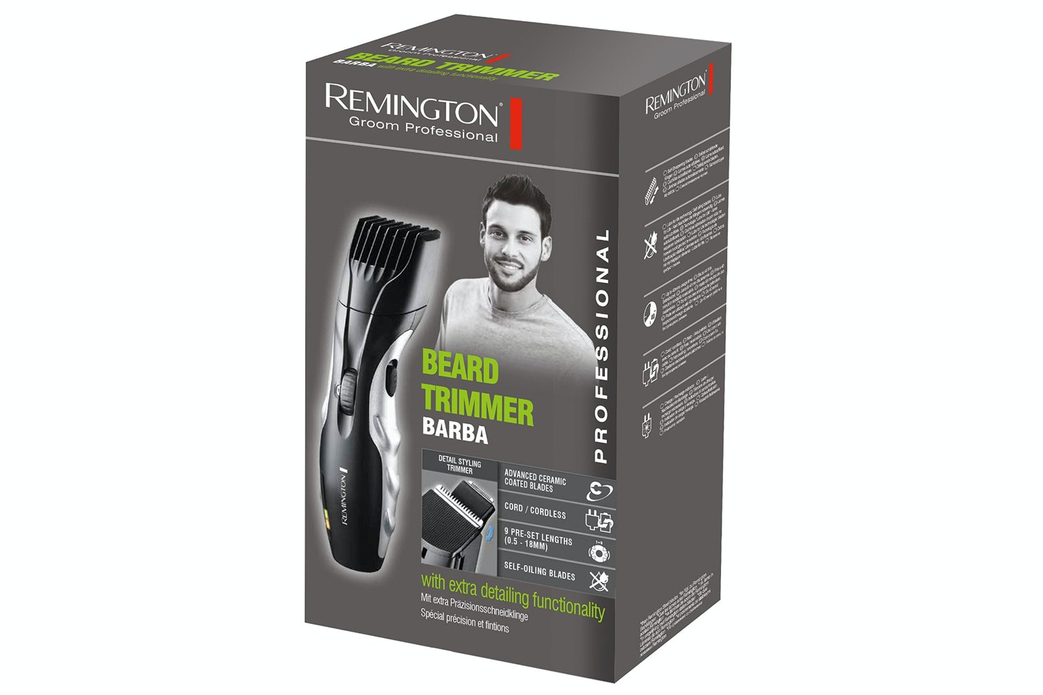 Remington Barba Beard Trimmer | MB320C
