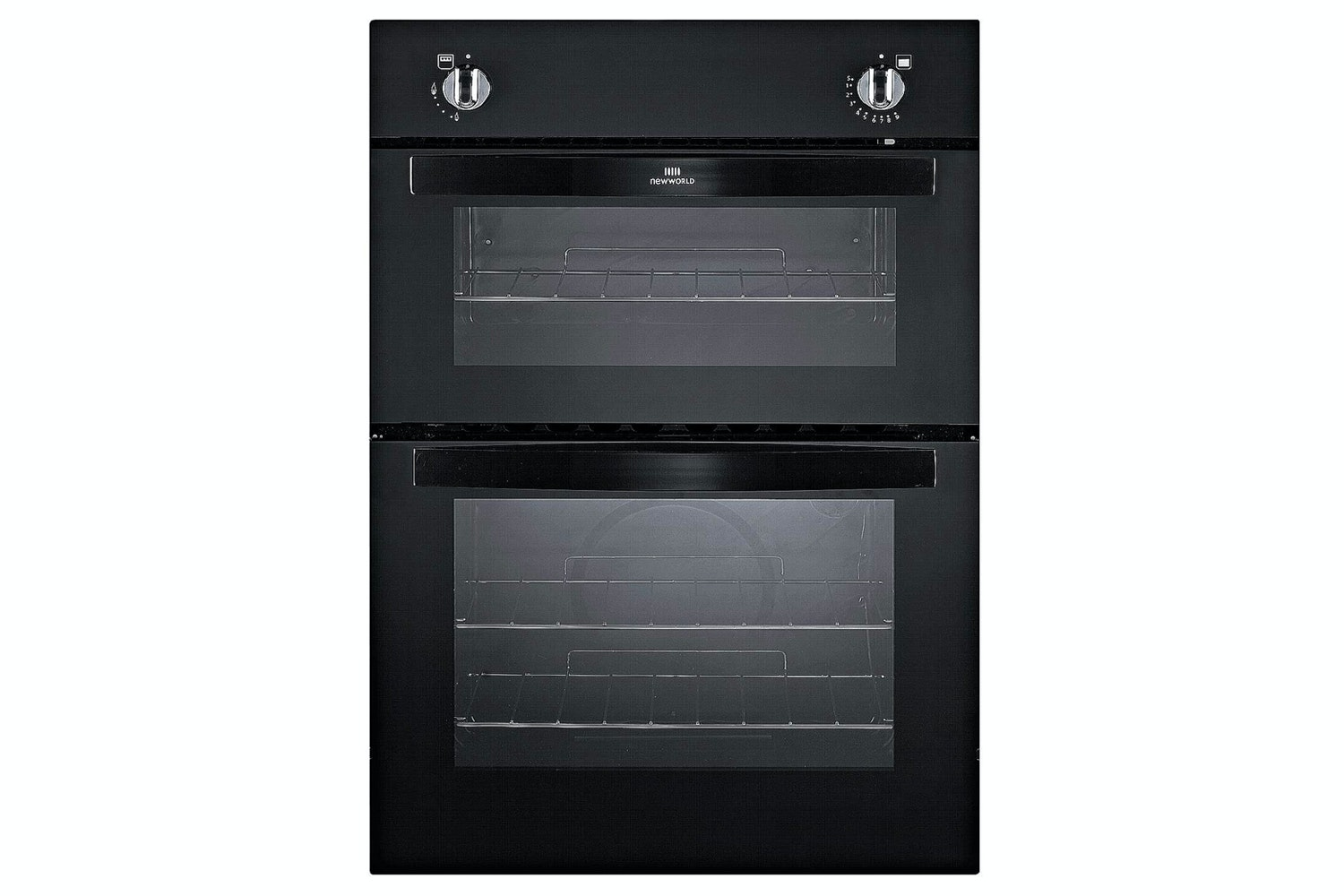 New World Built In Double Oven | NW901DOBLK