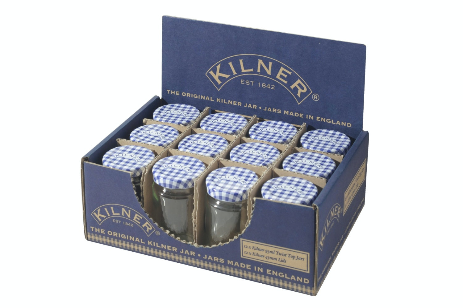 kilner glass twist top jar 93ml