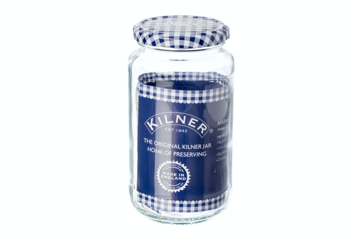 kilner glass twist top jar 580ml