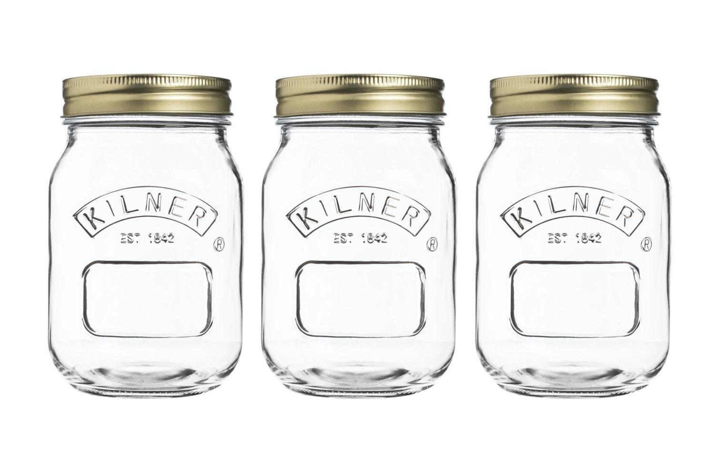 kilner preserve jars 0.5l set of 3