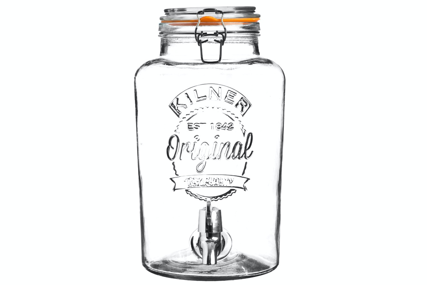 kilner drinks dispenser clip top 8 litre