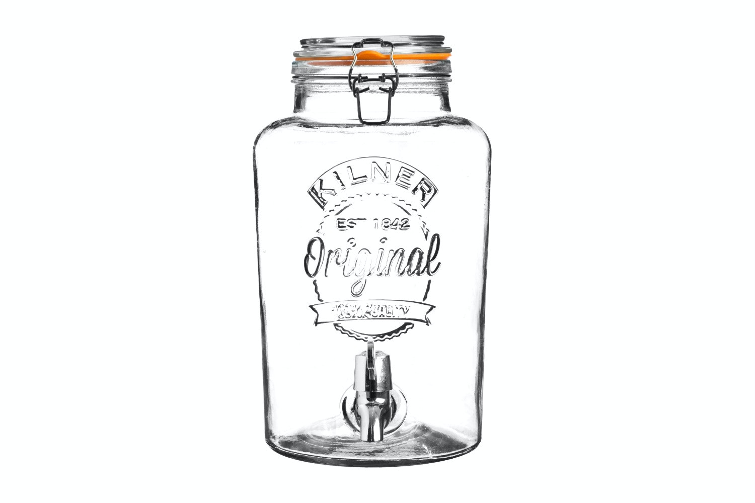 kilner drinks dispenser clip top 5 litre