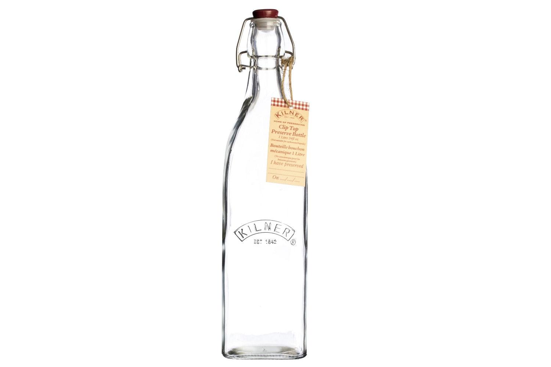 Kilner | Square Clip Top Bottle 1 Litre