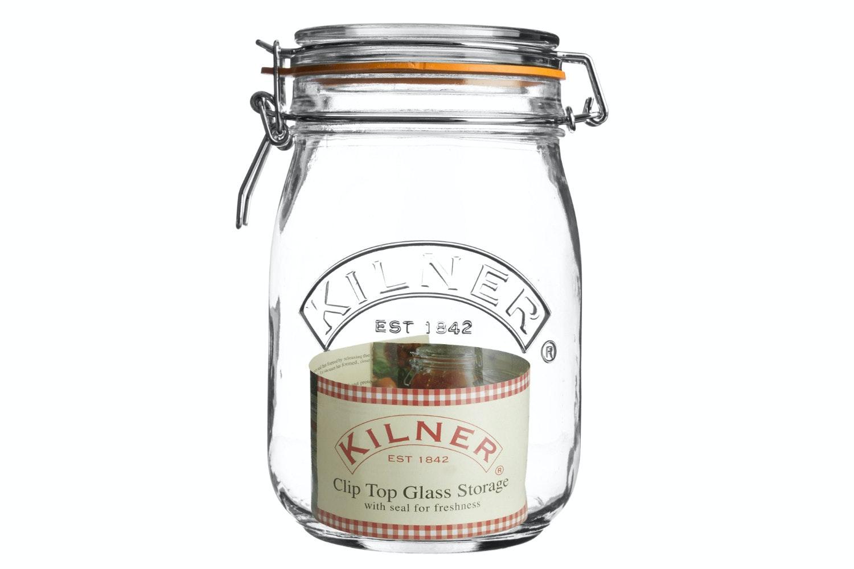 Kilner | Round Clip Top Jar 1 Litre