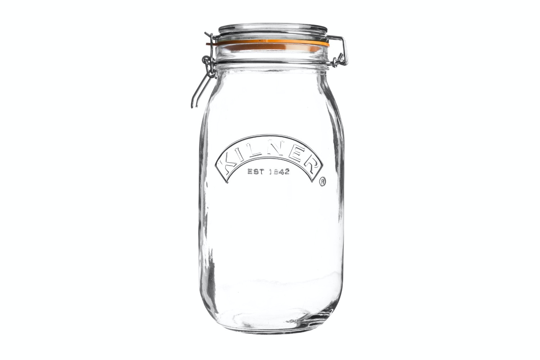 kilner round clip top jar 2 litre