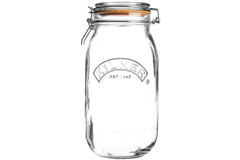 kilner round clip top jar 4 litre