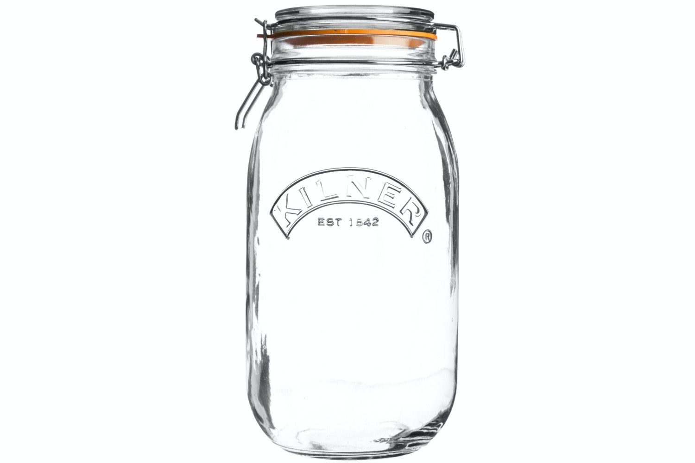 Kilner | Round Clip Top Jar 3 Litre