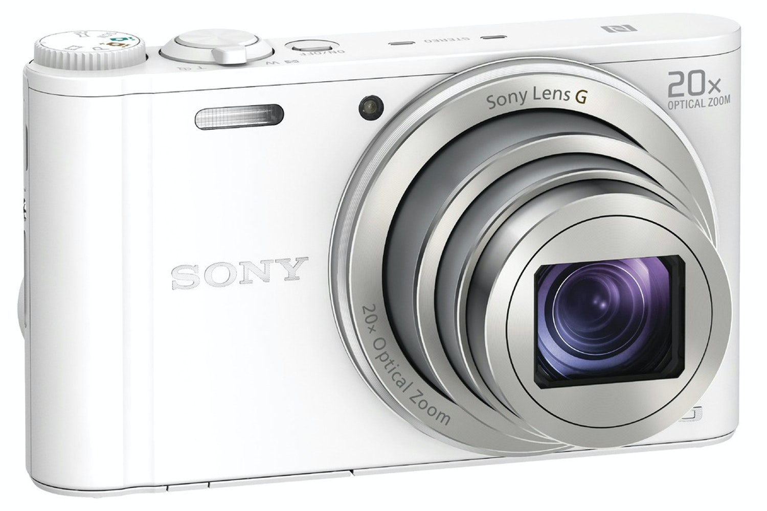 Sony Cyber-shot DSCWX350 Digital Camera | White