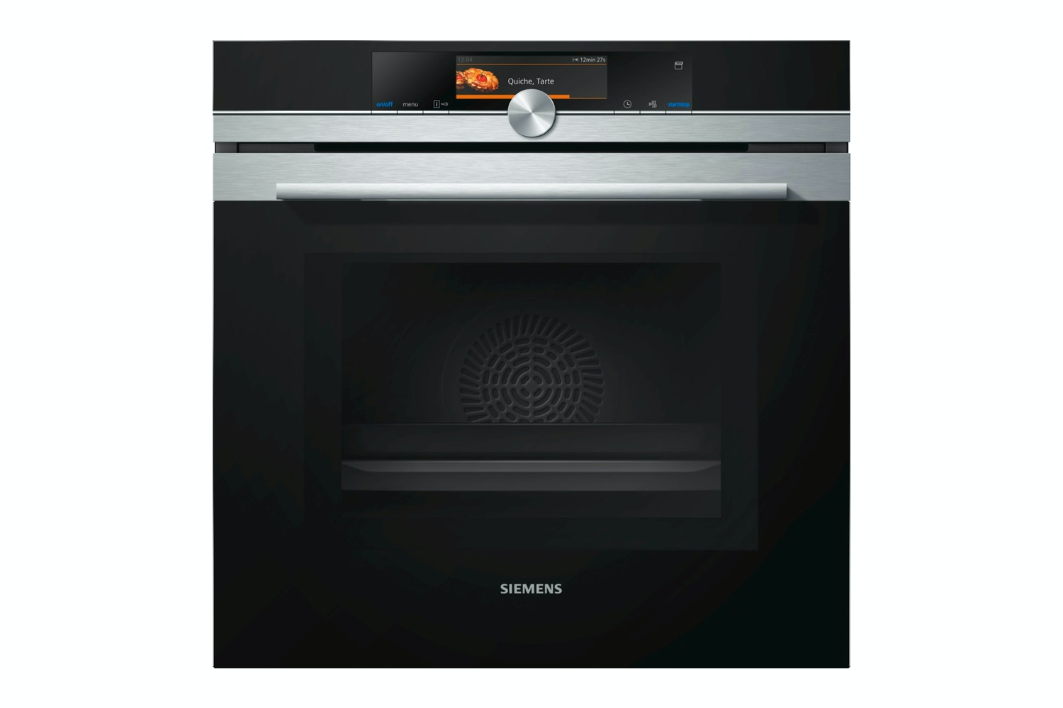 Siemens iQ700 Microwave with Steam Oven | HN678G4S1B