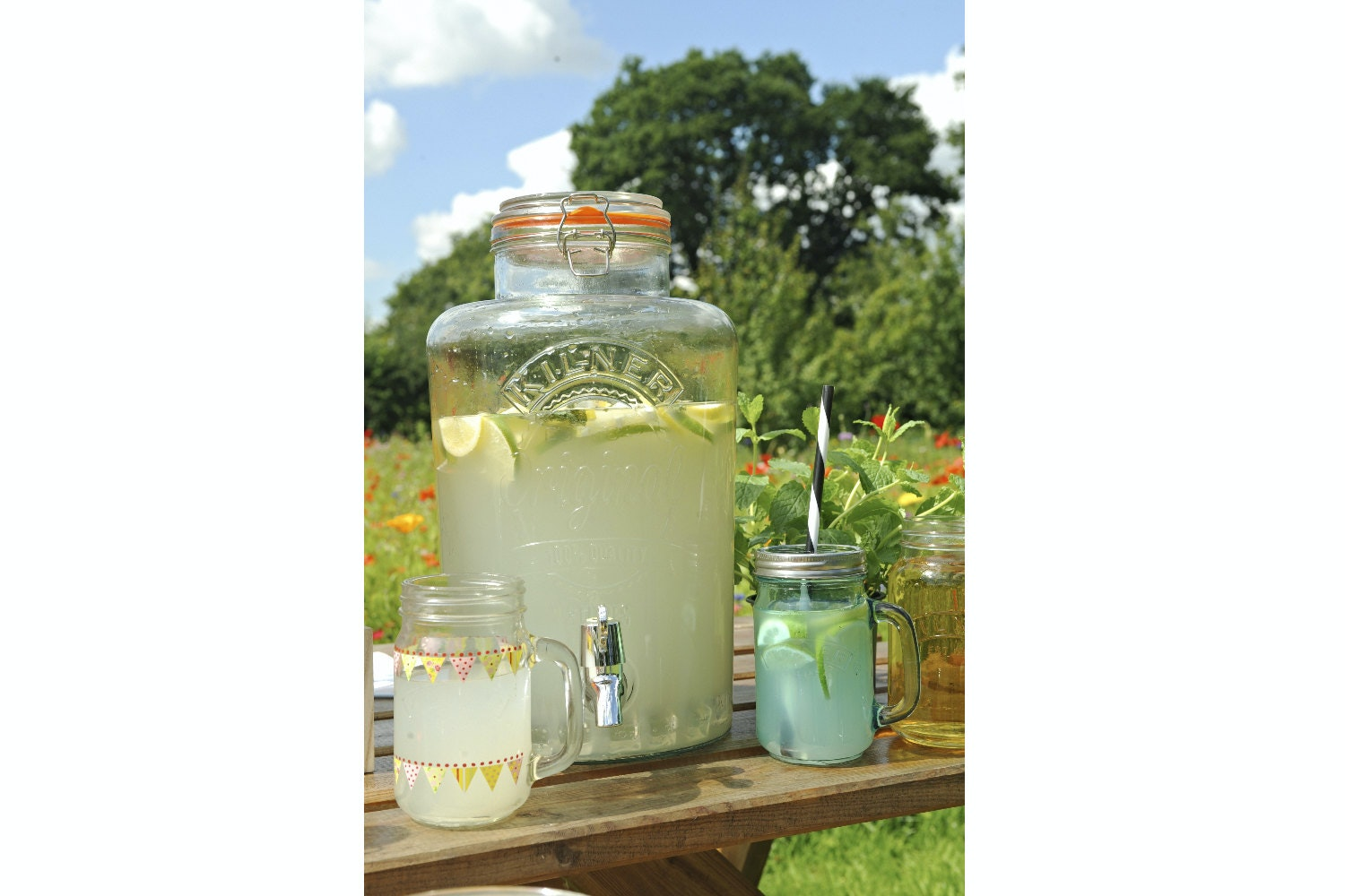 Kilner | Clip Top Drinks Dispenser 8 Litre
