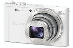 Sony Cyber Shot WX350 Digital Compact Camera | White
