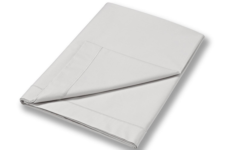 cotton soft superking flat sheet grey