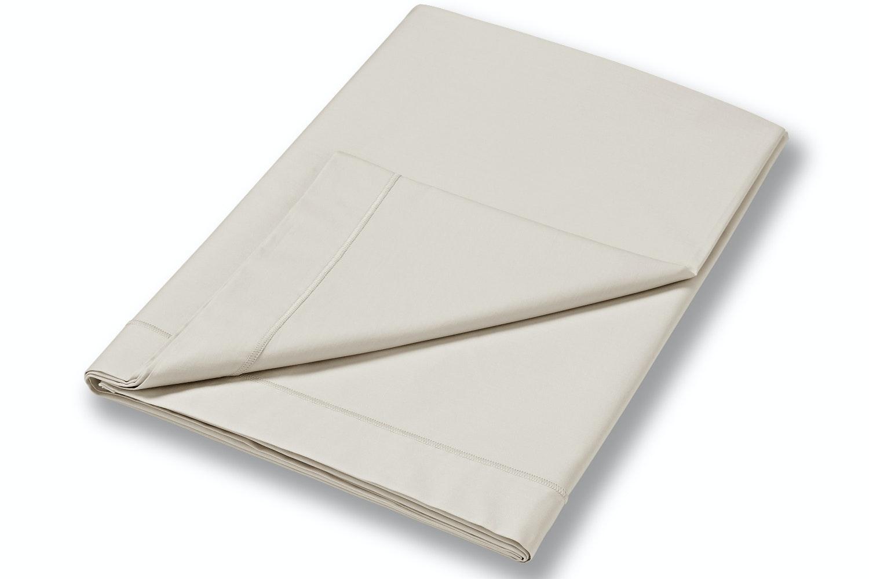 cotton soft king size flat sheet neutral