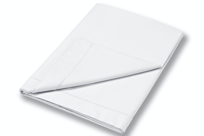cotton soft king size flat sheet white