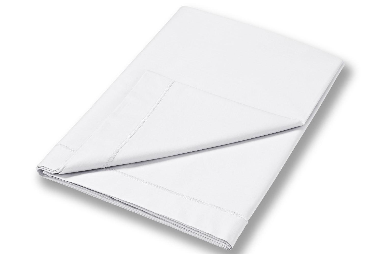 Cotton Soft Flat Sheet Single | White