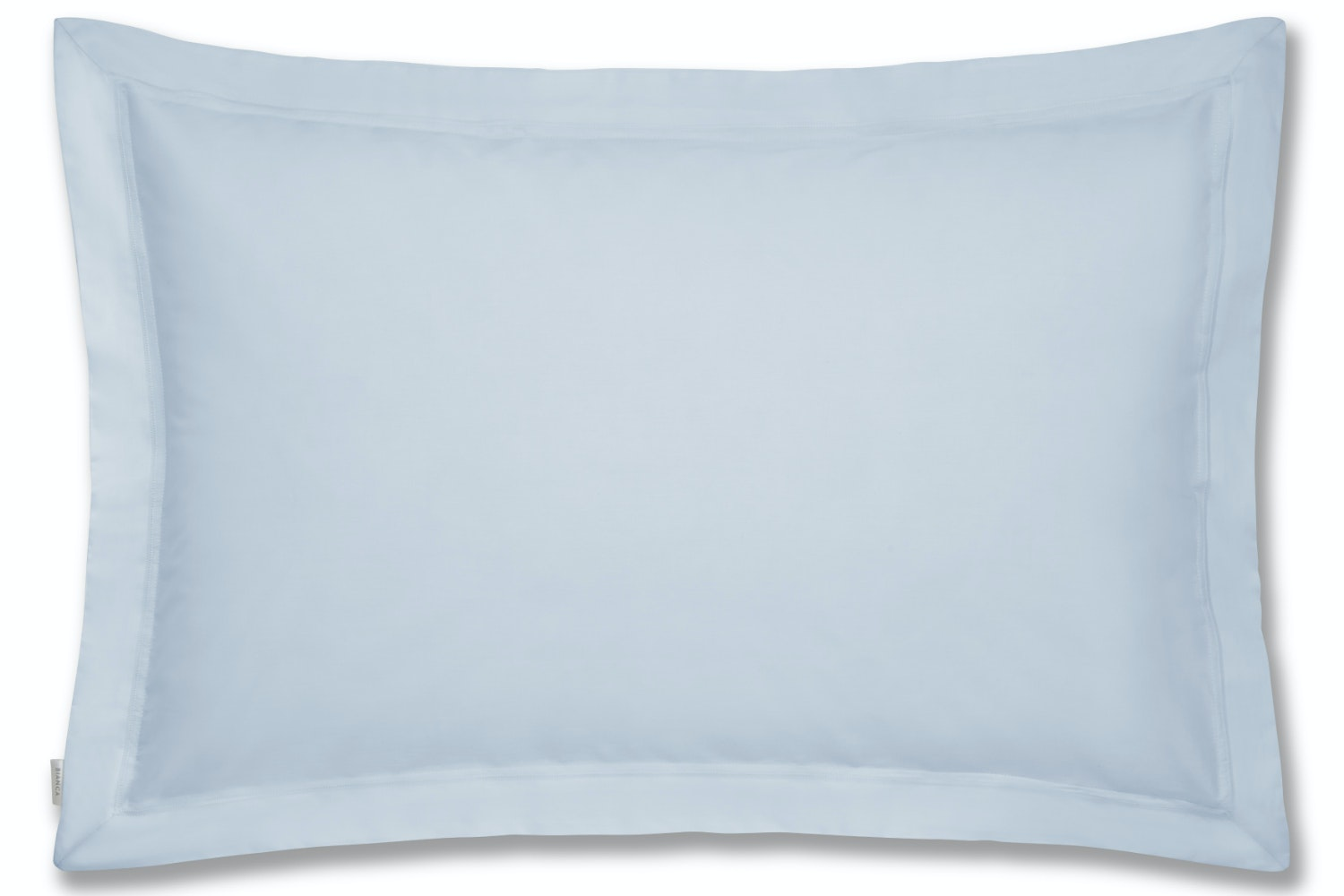 cotton soft oxford pillowcase blue