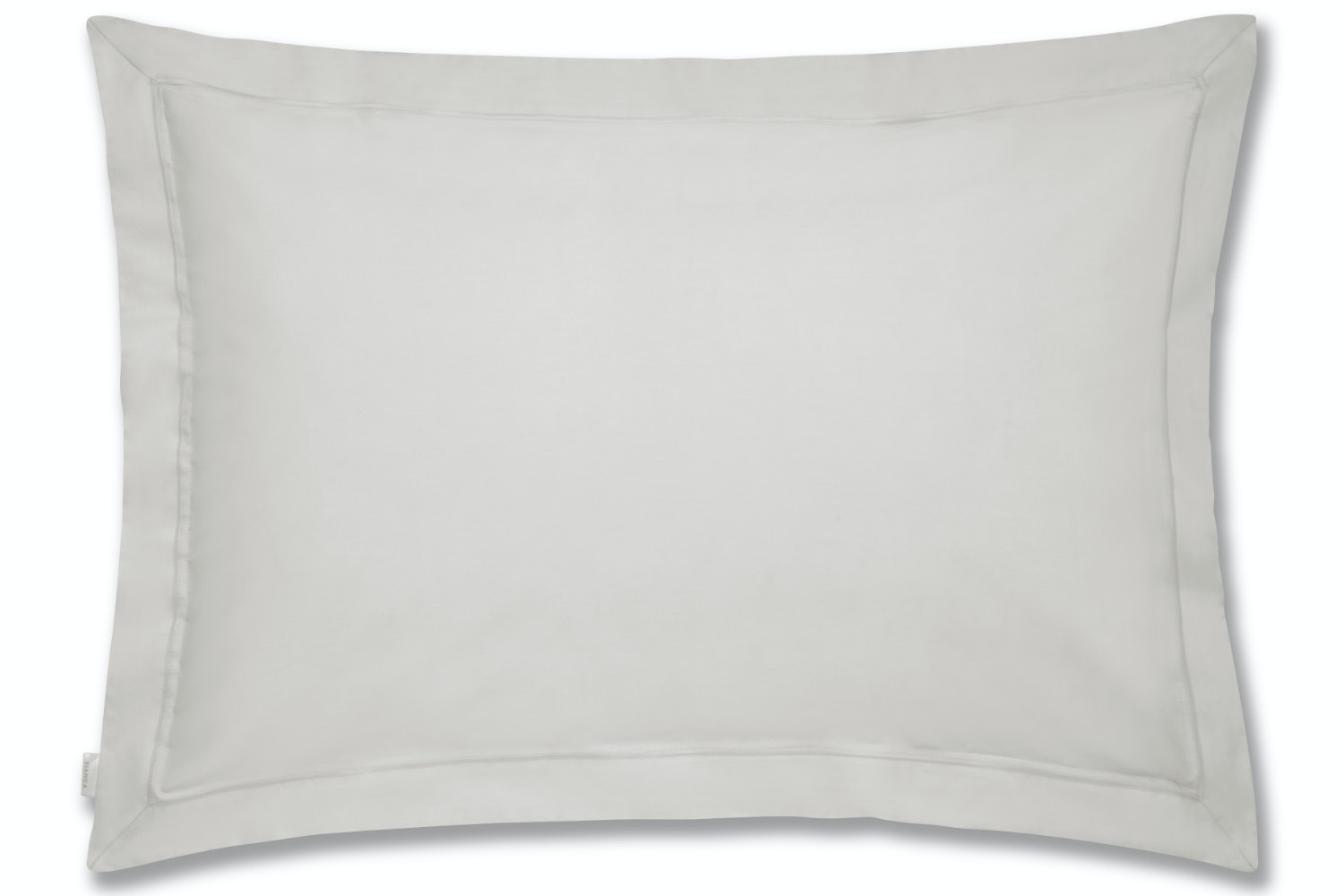 cotton soft oxford pillowcase grey