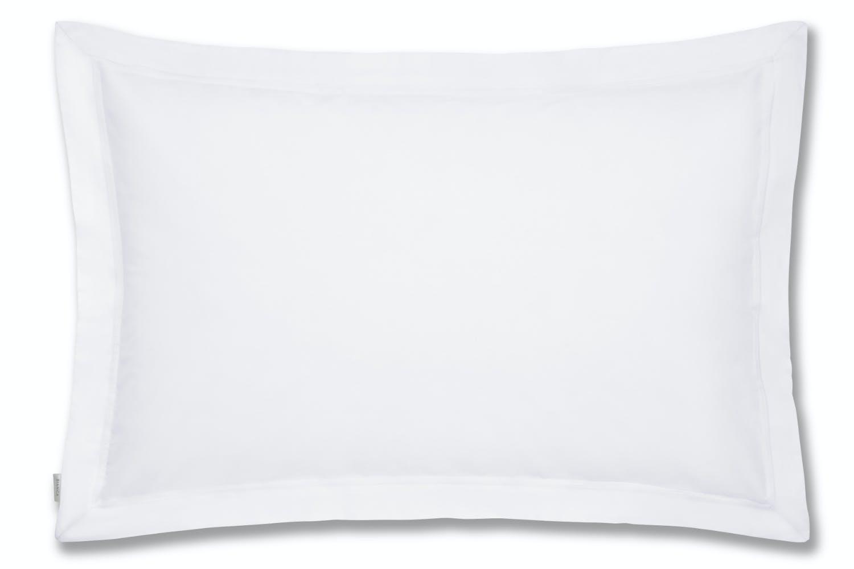 Cotton Soft Oxford Pillowcase | White