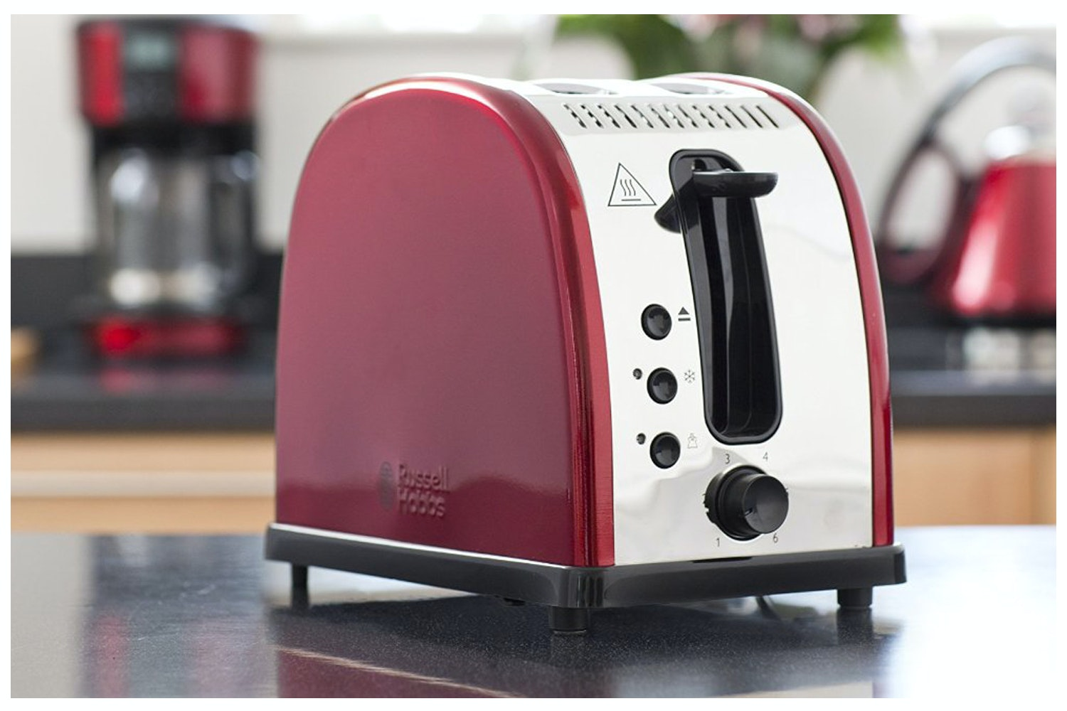 Russell Hobbs Legacy Breakfast Bundle | Metallic Red
