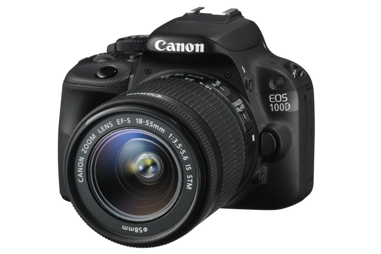 Canon EOS100D w/18-55mm IS STM Lens | Black