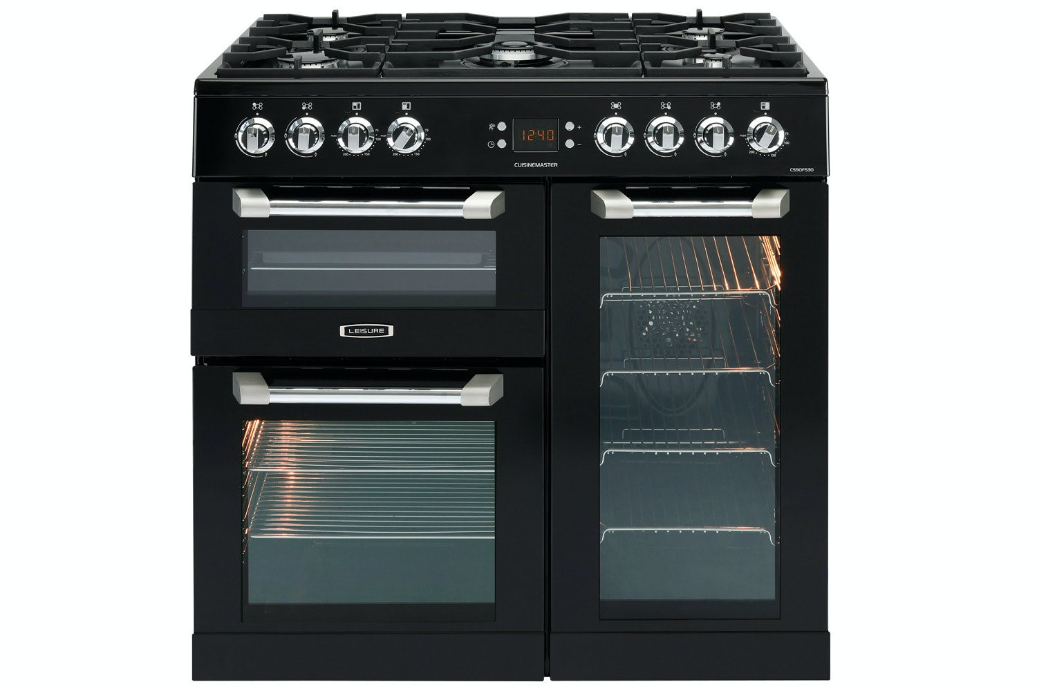 Leisure CuisineMaster 90cm Dual Fuel Range Cooker | CS90F530K