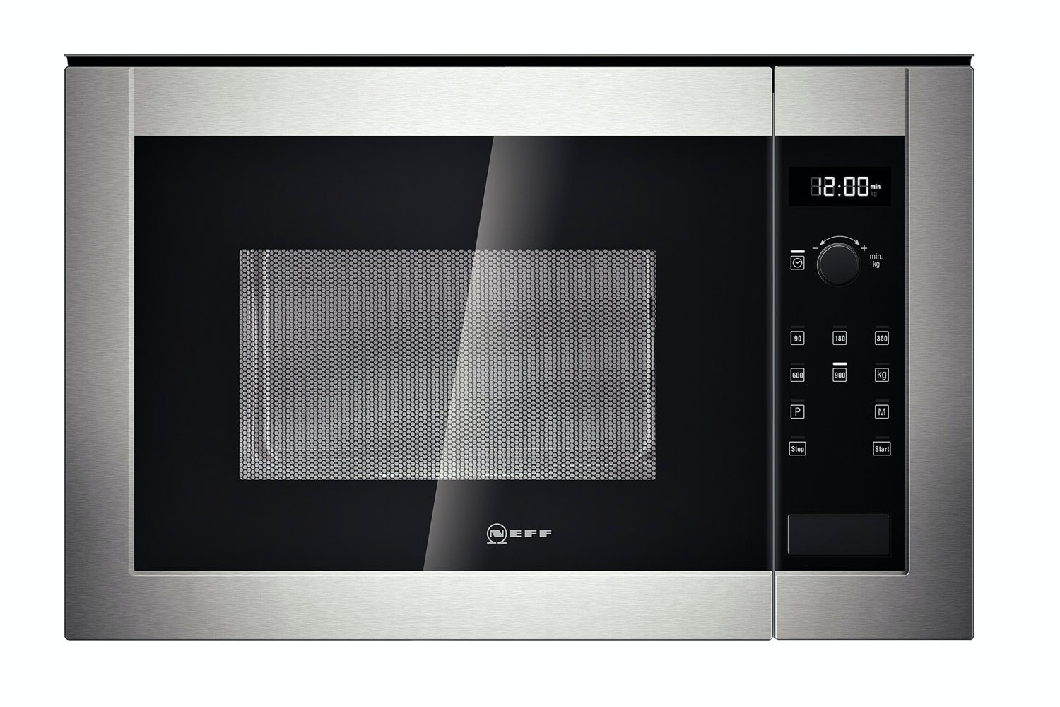Neff Integrated Stainless Steel Microwave Oven | H12WE60N0G