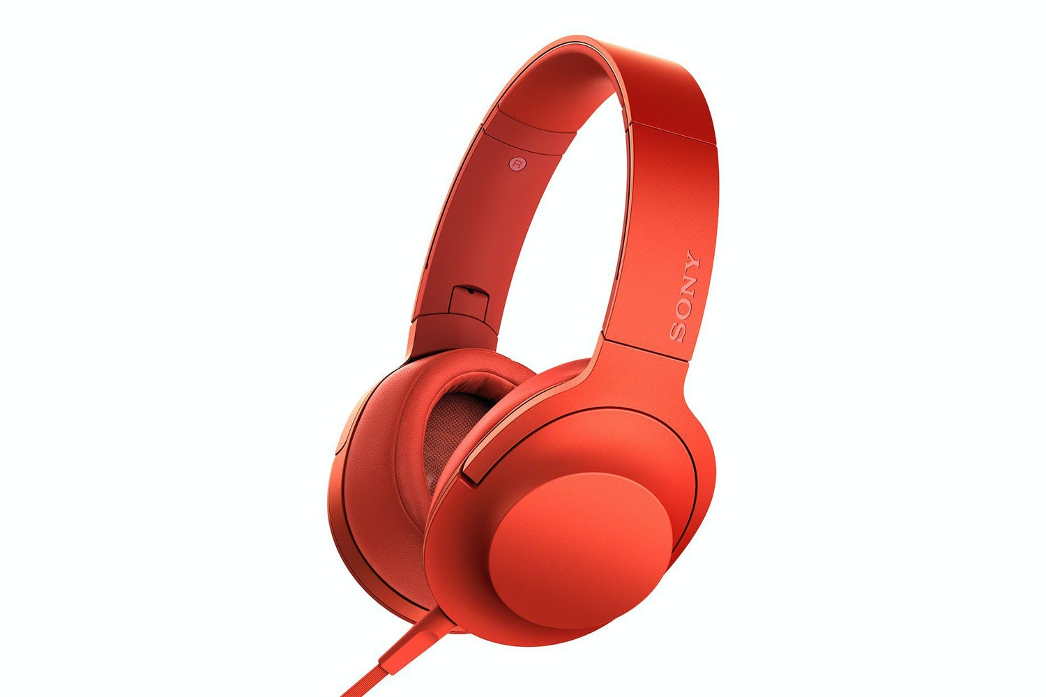 Sony H.ear On High Resolution Headphones | Red