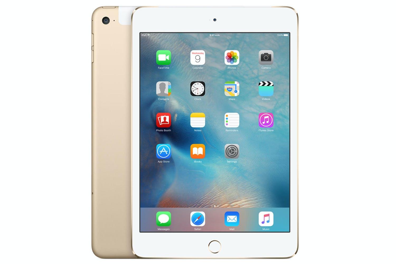 iPad mini 4 Wi-Fi + 4G | 16GB | Gold
