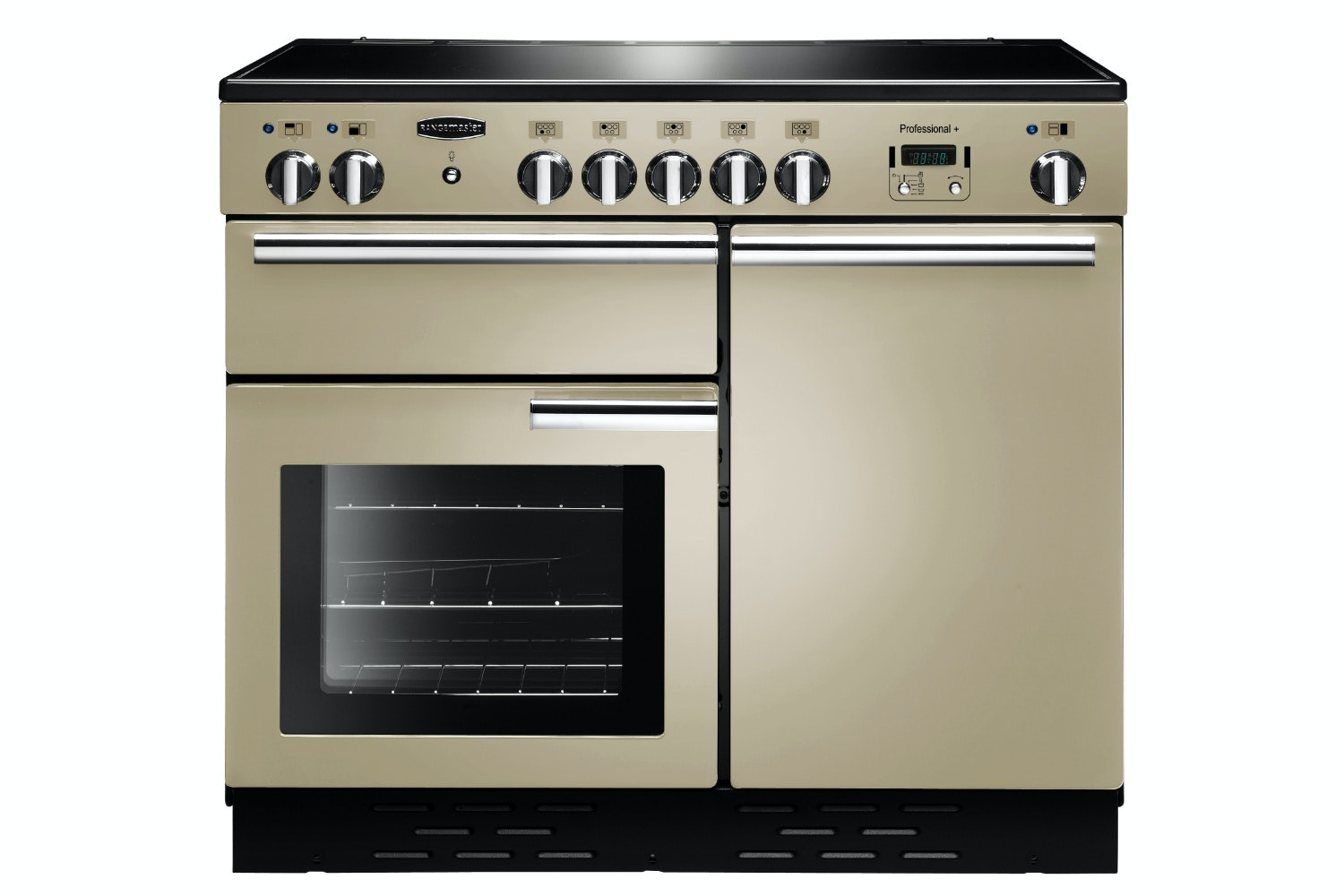 Rangemaster Pro Plus 100cm Electric Range Cooker | PROP100EICR/C | Cream