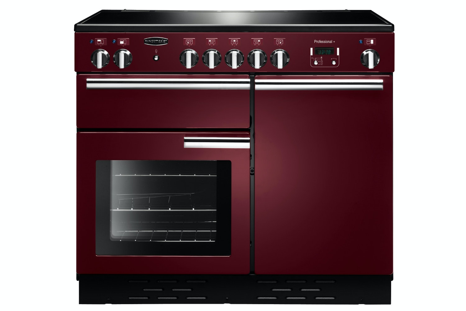 Rangemaster Pro Plus 100cm Electric Range Cooker | PROP100EICY/C | Cranberry